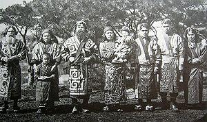 Ainu people in Hokkaido, 1902